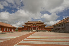 Het kasteel van Shuri stock fotografie