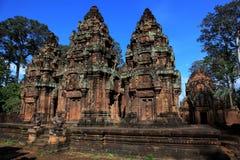 Het Kasteel van Si van Phu in Kambodja Royalty-vrije Stock Foto