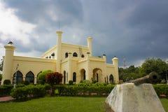 Het Kasteel van Siaksri Indrapura Royalty-vrije Stock Foto's