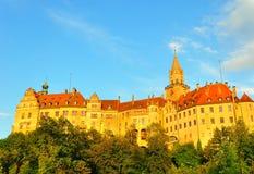 Het Kasteel van Sigmaringen Royalty-vrije Stock Afbeelding