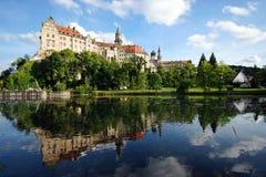 Het Kasteel van Sigmaringen Royalty-vrije Stock Afbeeldingen