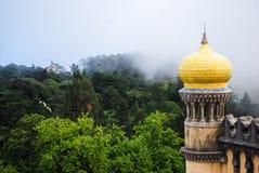 Het Kasteel van Sintra in Portugal stock fotografie