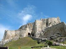 Het kasteel van Spi? Stock Afbeelding