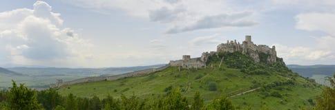 Het kasteel van Spis Stock Afbeeldingen