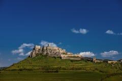 Het kasteel van Spis Stock Foto
