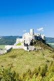 Het kasteel van Spissky Stock Foto