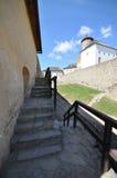 Het Kasteel van Staralubovna Royalty-vrije Stock Foto's