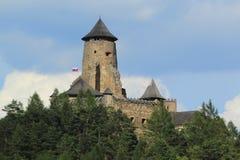 Het Kasteel van Staralubovna stock foto's