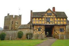 Het kasteel van Stokesay Royalty-vrije Stock Afbeelding