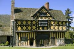Het kasteel van Stokesay Royalty-vrije Stock Foto