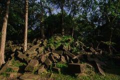 Het Kasteel van stopmealea, Khmer Koninkrijk stock afbeelding