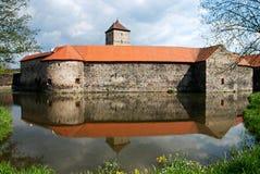 Het kasteel van Svihov royalty-vrije stock afbeelding