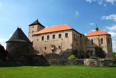Het kasteel van Svihov royalty-vrije stock foto's