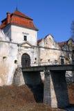 Het Kasteel van Svirz, de Oekraïne Royalty-vrije Stock Afbeeldingen
