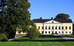 Het kasteel van Taxinge Stock Afbeeldingen