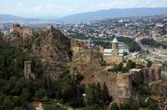 Het kasteel van Tbilisi Royalty-vrije Stock Fotografie