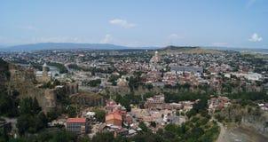 Het kasteel van Tbilisi Stock Afbeelding