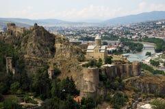 Het kasteel van Tbilisi Royalty-vrije Stock Afbeeldingen