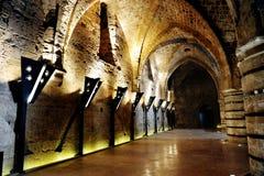 Het kasteel van Templar van de ridder Royalty-vrije Stock Afbeeldingen