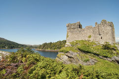 Het Kasteel van Tioram in Schotland royalty-vrije stock foto