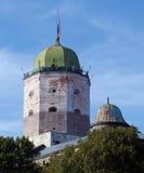 Het kasteel van toren stock fotografie