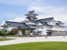 Het kasteel van Toyama stock afbeelding