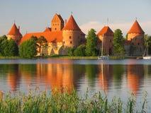 Het kasteel van Trakai, Litouwen Royalty-vrije Stock Afbeelding