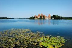 Het kasteel van Trakai van Litouwen Stock Afbeeldingen