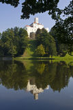 Het kasteel van Trakoscan Stock Afbeeldingen