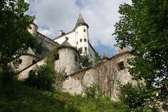Het Kasteel van Tratzberg, Oostenrijk stock foto's