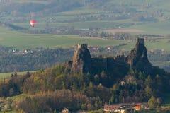 Het kasteel van Trosky Royalty-vrije Stock Fotografie