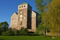 Het kasteel van Turku Royalty-vrije Stock Afbeelding