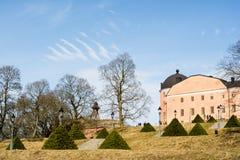 Het Kasteel van Uppsala, koninklijk kasteel in de stad van Uppsala, Zweden Royalty-vrije Stock Afbeelding