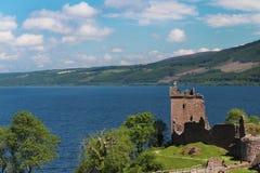 Het Kasteel van Urquhart, Loch Ness, Schotland Stock Fotografie