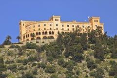 Het kasteel van Utveggio Stock Fotografie