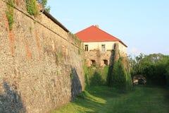 Het Kasteel van Uzhhorod in Zakarpattia Oblast, de Oekraïne Stock Foto's