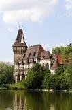 Het kasteel van Vajdahunyad Stock Foto