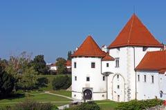 Het kasteel van Varazdin Royalty-vrije Stock Foto