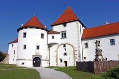 Het kasteel van Varazdin Stock Foto