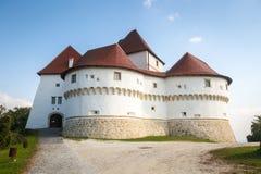 Het kasteel van Velikitabor in Zagorje royalty-vrije stock afbeeldingen