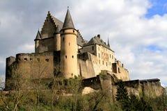 Het kasteel van Vianden Royalty-vrije Stock Fotografie