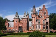Het kasteel van Vlaanderen stock foto's
