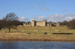 Het kasteel van vloeren royalty-vrije stock foto