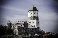 Het Kasteel van Vyborg Stock Afbeeldingen