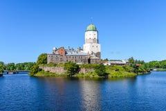 Het Kasteel van Vyborg Royalty-vrije Stock Foto