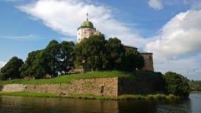 Het Kasteel van Vyborg stock foto's