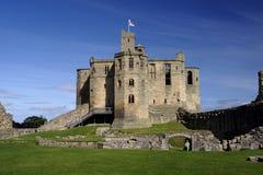 Het kasteel van Warkworth Royalty-vrije Stock Afbeelding