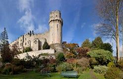 Het kasteel van Warwick Stock Foto's