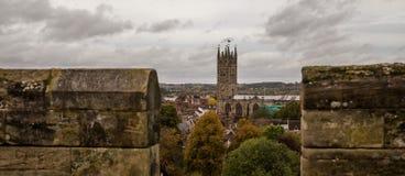 Het kasteel van Warwick Royalty-vrije Stock Afbeeldingen