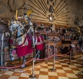 Het kasteel van Warwick Stock Foto